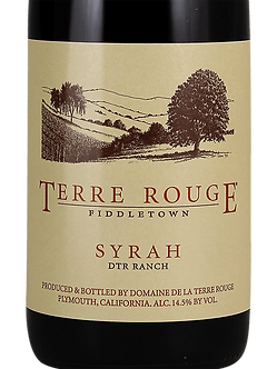 2012 Terre Rouge DTR Ranch Syrah