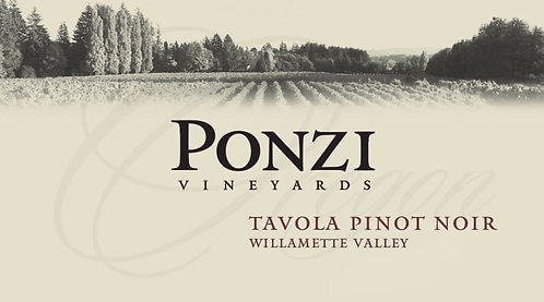 "Ponzi Vineyards ""Tavola"" Pinot Noir Willamette Valley"