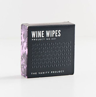 The Vanity Project Wine Wipes