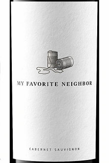 """2017 """"My Favorite Neighbor"""" Paso Robles Cabernet Blend by Booker"""