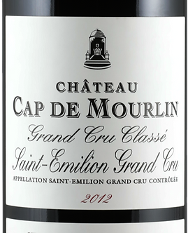 2012 Chateau Cap de Mourlin Saint-Emilion