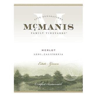 McManis Family Vineyards Merlot