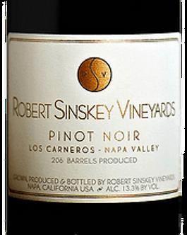 2015 Robert Sinskey Vineyards Los Carneros -Napa Pinot Noir