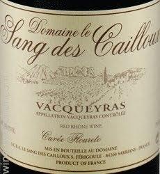 Sang des Cailloux Vacqueyras