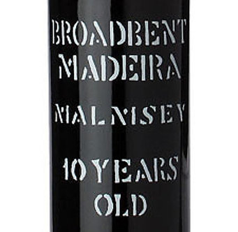 Broadbent 10 Year Malmsey Madeira - NV