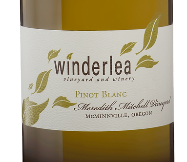 "Winderlea ""Meredith Mitchell Vineyard"" Pinot Blanc Willamette Valley 2017"