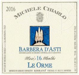 """Michele Chiarlo """"Le Orme"""" Barbera d'Asti"""