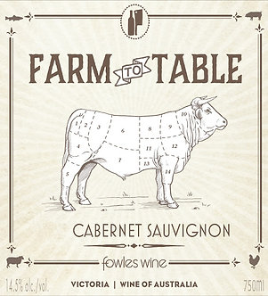 Fowles Farm to Table Cabernet Sauvignon, Victoria Australia