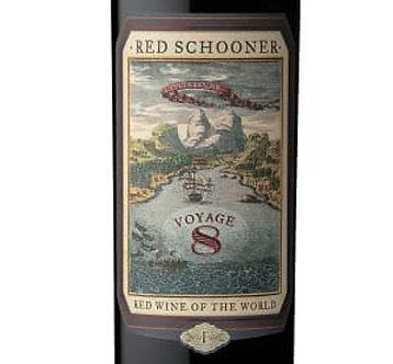 Red Schooner Voyage 8 Malbec by Caymus, Mendoza Argentina