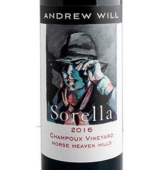 2016 Andrew Will Sorella Horse Heaven Hills ETA 2/25/21