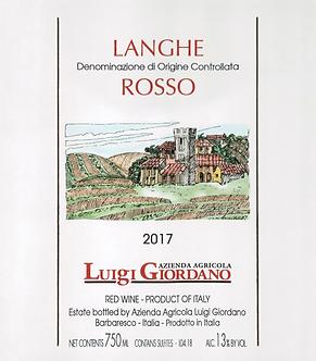 2018 Luigi Giordano Langhe Rosso, Nebbiolo, Piedmont