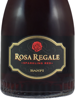 Rosa Regale Red Sparkling Wine by Banfi