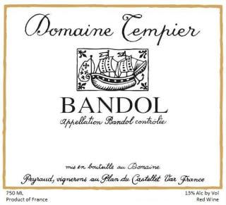 2018 Domaine Tempier Bandol Rouge