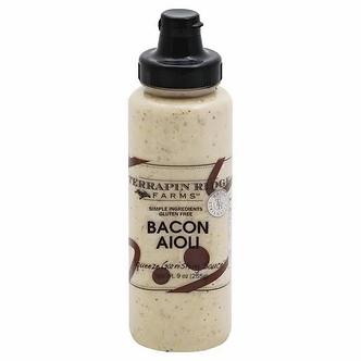 Terrapin Ridge Farms Bacon Aioli Garnishing Sauce (7.75 oz)