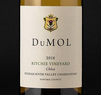 "PRE-SALE: 2018 DuMOL Ritchie Vineyard ""Chloe"" Russian River Valley Chardonnay"