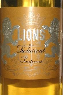 (375ml) Lions De Suduiraut Sauterne