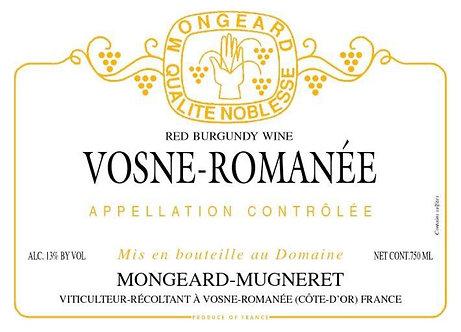 Mongeard-Mugneret Vosne-Romanee 2018