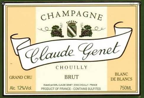 Claude Genet Chouilly Brut Champagne