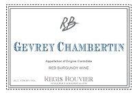 Regis Bouvier Gevrey Chambertin 2017