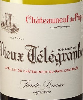 2019 Domaine du Vieux Telegraphe Chateauneuf du Pape Blanc