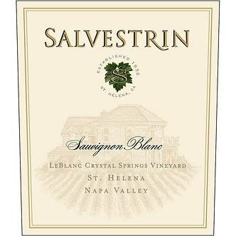 2019 Salvestrin Estate Sauvignon Blanc from St. Helena Napa Valley