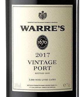 2017 Warre's Vintage Port