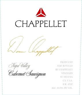 2017 Chappellet St. Helena (Napa Valley) Cabernet Sauvignon