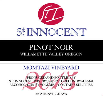 St. Innocent Momtazi Vineyard Willamette Valley Pinot Noir