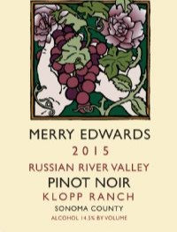 2015 Merry Edwards Klopp Ranch Pinot Noir