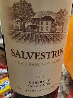"""2016 Salvestrin """"Dr. Crane Vineyard"""" Cabernet Sauvignon"""