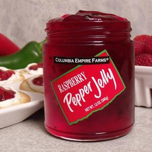 Raspberry Pepper Jelly, 12 oz.