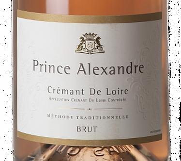 Prince Alexandre Cremant De Loire Brut Rose