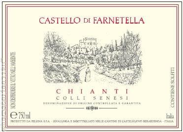 Castello di Farnetella Chianti Colli Senesi