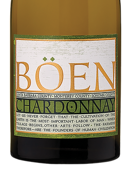 BÖEN Santa Barbara, Monterey, Sonoma County Chardonnay
