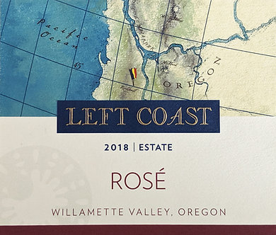 Left Coast Rosé of Pinot Noir 2018