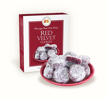 Mississippi Cheese Straw Factory; Red Velvet Cookies 1 oz