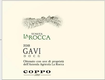 Coppa Tenuta La Rocco Gavi DOCG