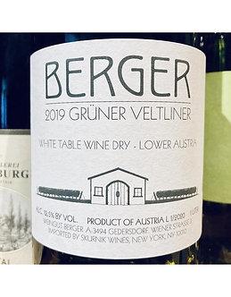 2019 Berger Gruner Veltliner 1 Liter, Austria