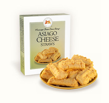 Mississippi Cheese Straw Factory; Asiago Cheese Straws 1oz