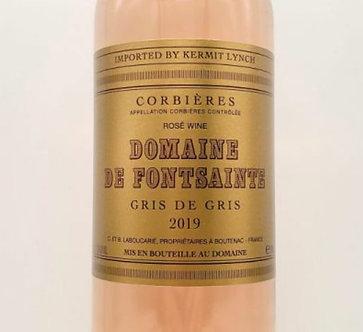 2019 Domaine de Fontsainte Gris de Gris Rosé