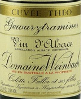 2018 Domaine Weinbach Gewurztraminer Cuvee Theo Vin D'Alsace