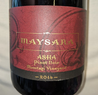 """Maysara """"Asha"""" Momtazi Vineyard Pinot Noir 2014"""