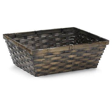 "12"" x 9"" Rectangular Wicker Basket"