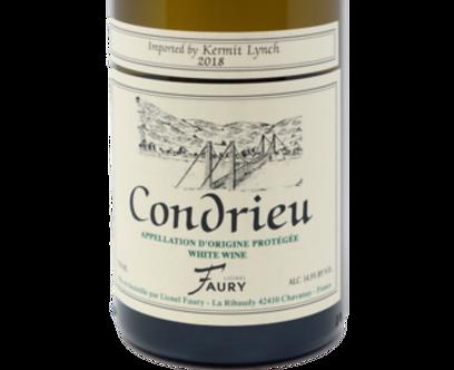 2018 Lionel Faury Condrieu Viognier