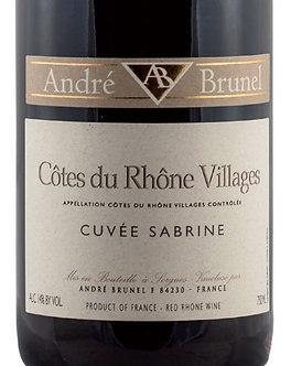 Andre Brunel Cuvée Sabrine Cotes du Rhone Villages