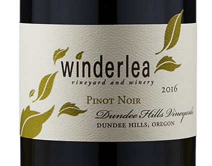 Winderlea Dundee Hills Oregon Pinot Noir 2016