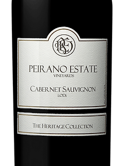 "Peirano Estate ""The Heritage Collection"" Lodi Cabernet Sauvignon"