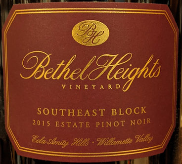 1.5 Lit/MAGNUM: 2015 Bethel Heights Southeast Block Willamette Valley Pinot Noir