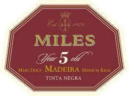 NV Miles 5 Year Old Madeira Meio Doce