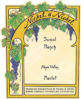 "2016 Nickel & Nickel ""Suscol Ranch"" Napa Valley Merlot"